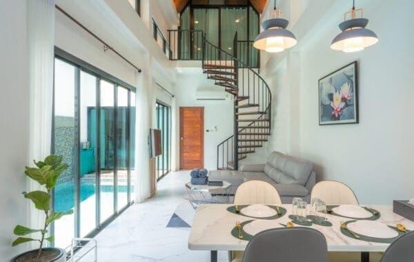 Two Bedroom Duplex Pool Villa