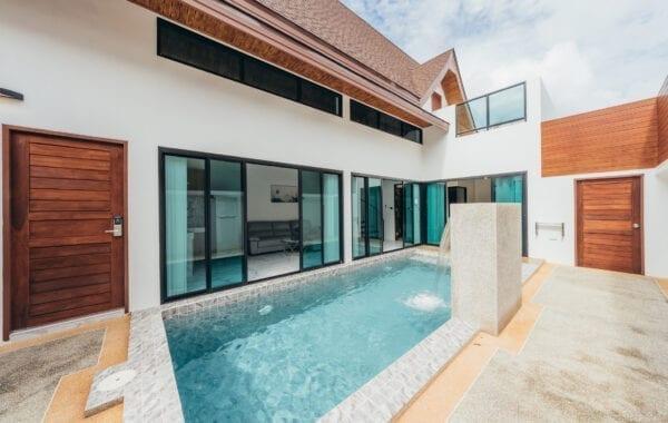 Three Bedroom Family Duplex Pool Villa